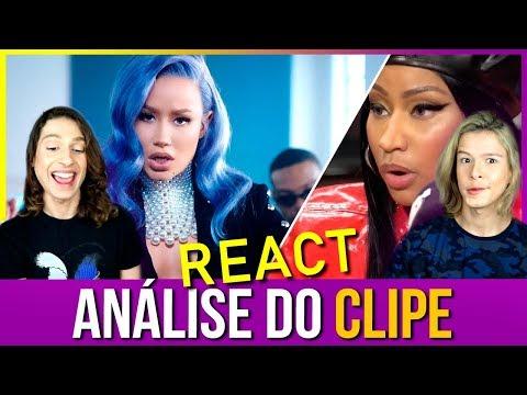 "REACT Nicki Minaj Analisa: ""Iggy Azalea - Sally Walker""  Diogo Paródias"