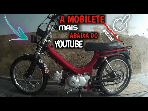 Rebaixei Minha Mobilete + Role Na Fixa (Victor Da Moby) Moto Vlog