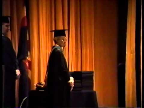 ERAU Prescott Dec 1989 Graduation
