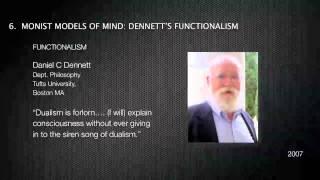 MONISM VS DUALISM & PSYCHIATRY 1/4 DENNET & SEARLE Thumbnail
