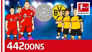 The Bundesliga Title Race Song Bayern München vs. Borussia Dortmund - Powered by 442oons