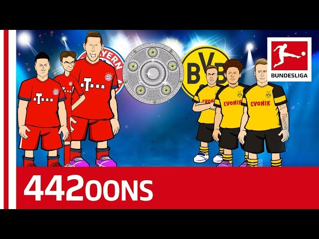 The Bundesliga Title Race Song Bayern München vs. Borussia Dortmund - Powered by 442oons