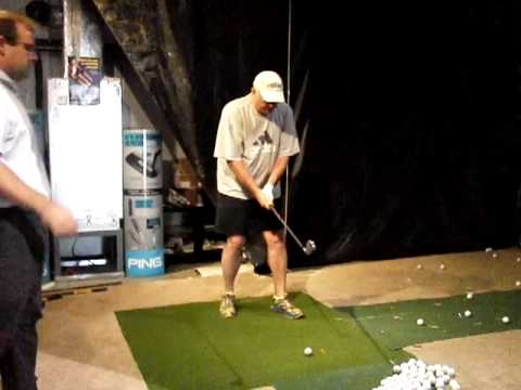 Former Wicked Slicer Working On Post Hit Impact Private lesson with Matt Christian