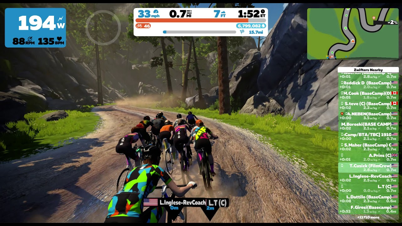 Videos from the gravel stage race challenge