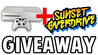 WHITE XBOX ONE SUNSET OVERDRIVE BUNDLE: Unboxing + Giveaway!