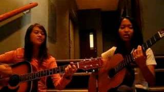 Eunice and Chen from Gracenote-jamming my friends over you