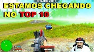 H1Z1 BATTLE ROYALE [PS4] SOBRE PRESÃO EM BUSCA DO TOP 10  NO RANKING #GADOXA!!