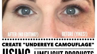 Create UNDEREYE CAMOUFLAGE with Limelight Products