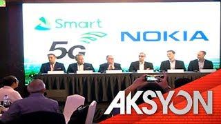 Smart at Nokia, maglulunsad ng 5G wireless broadband technologies sa iba't ibang lugar sa bansa
