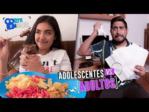 ADOLESCENTES VS. ADULTOS FT. XIME PONCH |...