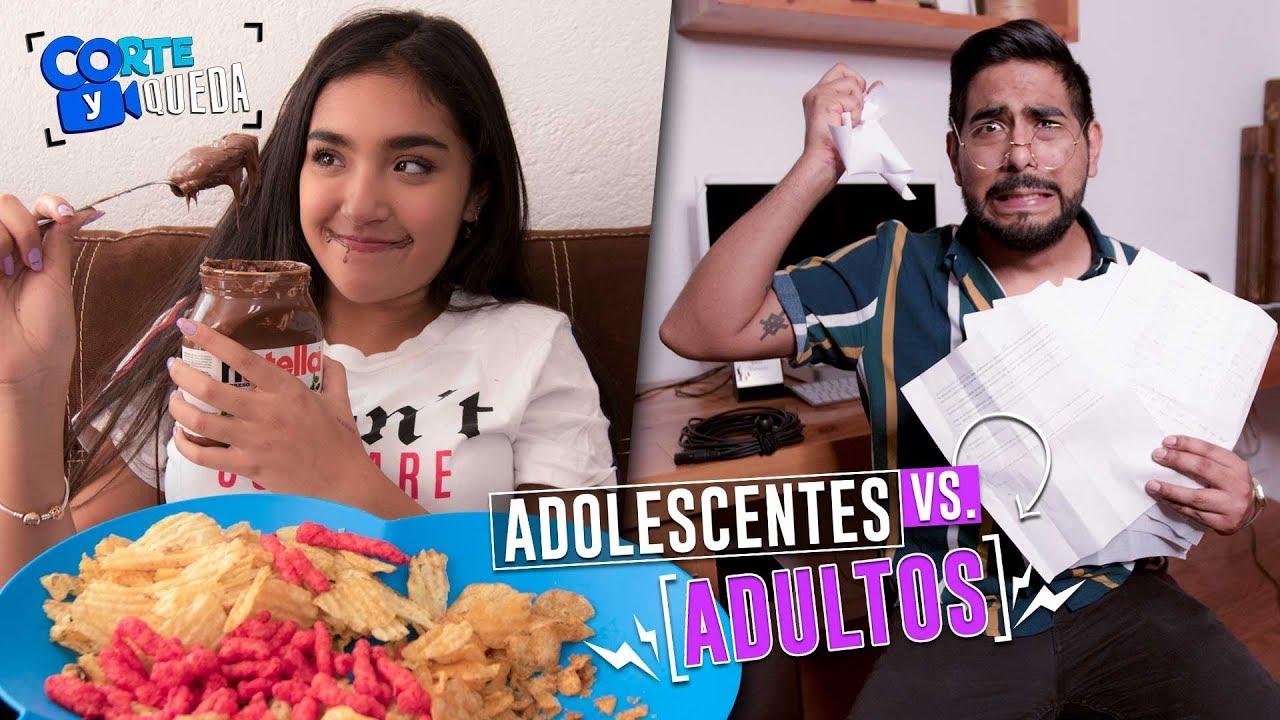 ADOLESCENTES VS. ADULTOS FT. XIME PONCH | CORTE Y QUEDA