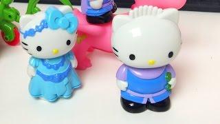 Маленькая Девочка ЛитлГерл Манина Открывает Игрушки Хелло Китти Hello Kitty Toys