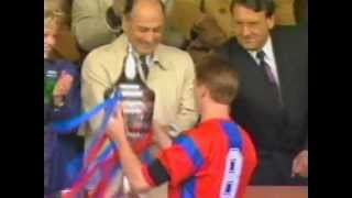 Palace ZDS victory - radio news report 8/4/91