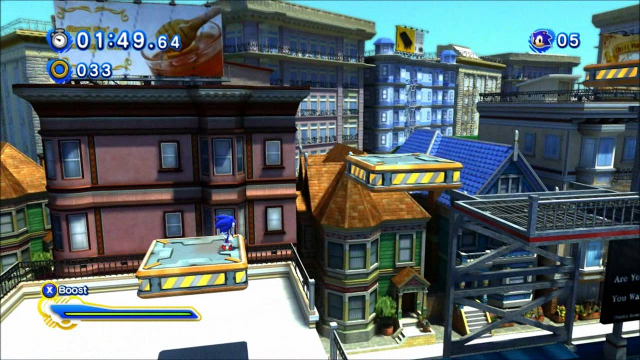 sonic generations city escape modern youtube