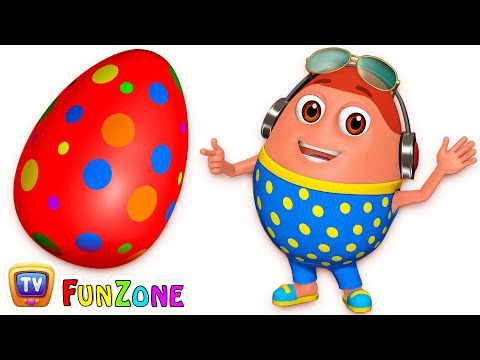 Thumbnail: Surprise Eggs Gumball Machine Ball Pit Show for Kids | Learn Colours – RED Colour | ChuChuTV Funzone