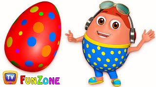 Surprise Eggs Gumball Machine Ball Pit Show for Kids | Learn Colours – RED Colour | ChuChuTV Funzone thumbnail