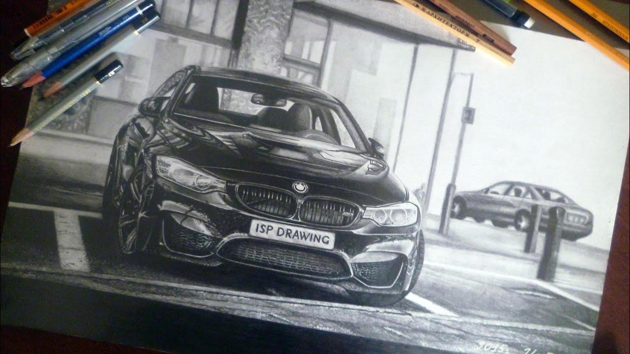 Bmw M4 F82 Drawing Isp 2015