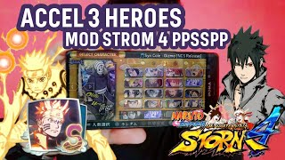 DOWNLOAD NARUTO ACCEL 3 MOD STORM4 PPSSPP