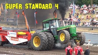 Brande Euro Cup 2018 Super Standard 7,5t @ Tractor Pulling