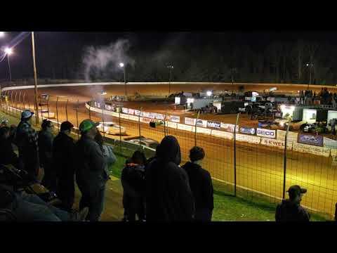 Thunder Series race at Cherokee Speedway 3/2/19