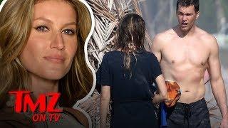 Tom Brady & Gisele Look INCREDIBLE On The Beach | TMZ TV
