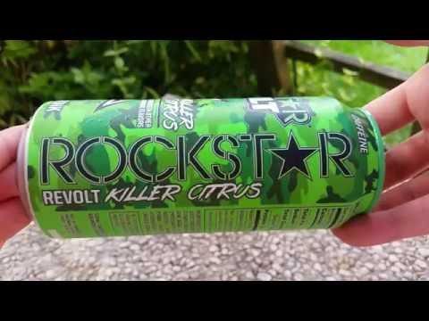 LET´S DRINK: ROCKSTAR REVOLT - KILLER CITRUS (USA)