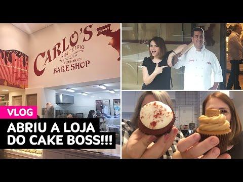 Vlog: abriu a primeira loja do Cake Boss no Brasil!!! • Karol Pinheiro