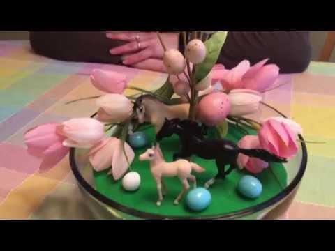 Easter Model Horse Scene | Paint Pony Studios