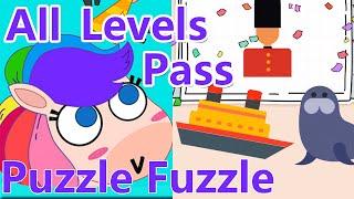 Puzzle Fuzzle Walkthrough Part 3 Level 201 - Last Level