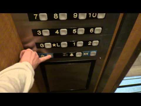 Custom Dover Impulse Traction Internal Elevators at Park Vista Hotel in Gatlinburg, TN
