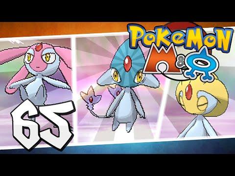 Pokémon Omega Ruby And Alpha Sapphire - Episode 65 | Mesprit, Uxie, Azelf!