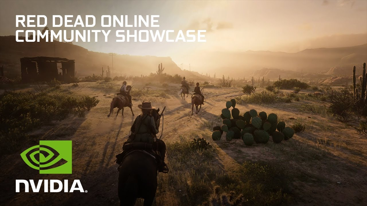 Red Dead Online with NVIDIA DLSS | Bounty Hunter - GeForce Community Showcase