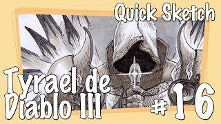 Quick Sketch #16 - Tyrael from Diablo III