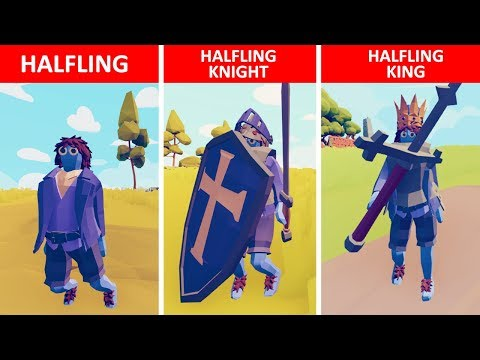 The Rise of the Halfling Empire - TABS Story - Totally Accurate Battle Simulator Mods