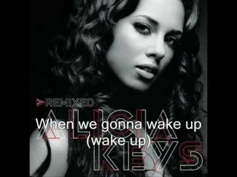 Alicia Keys - Wake up (with lyrics)