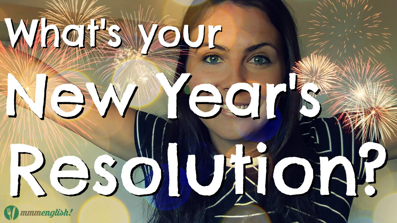 What''s your New Year's resolution? - YouTube