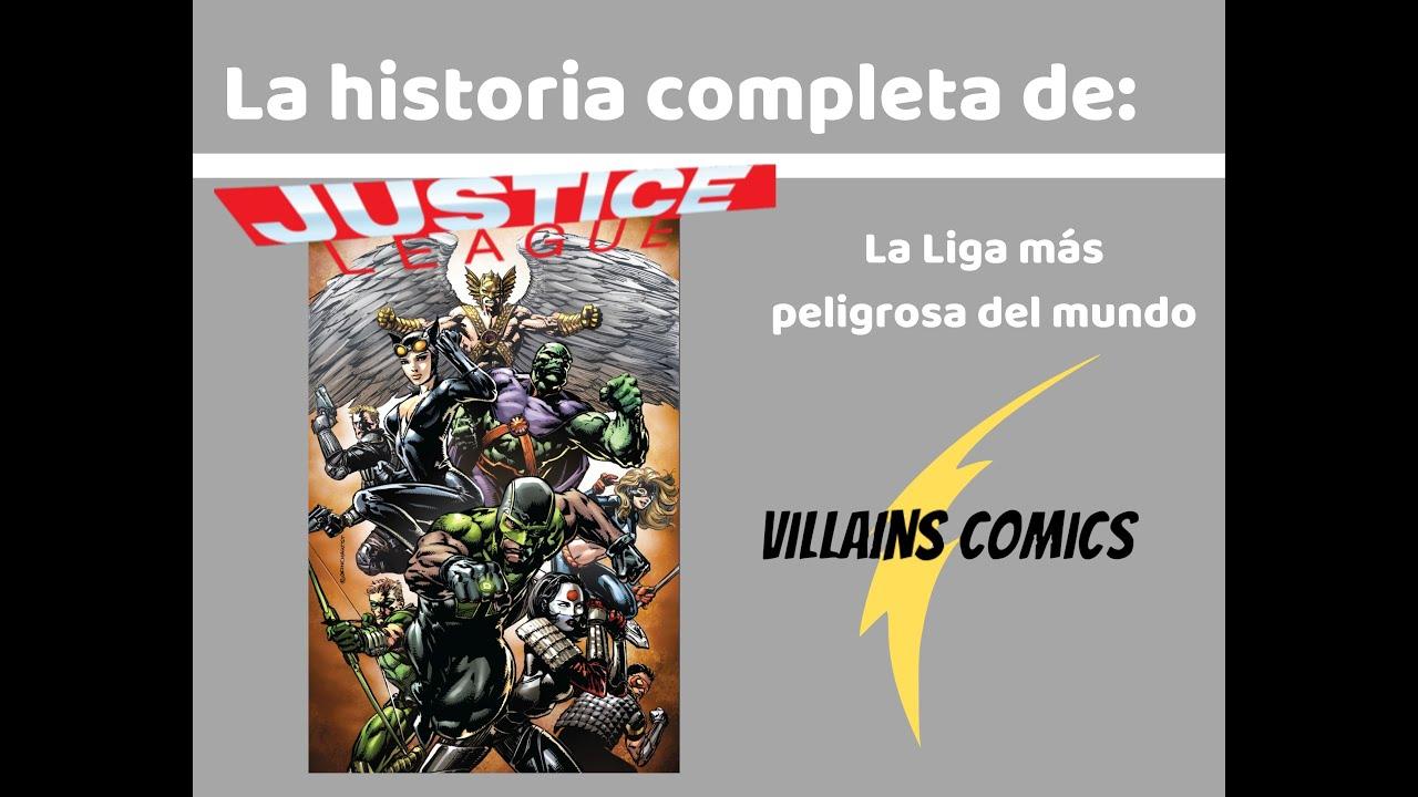 Liga de la Justicia La Liga más peligrosa del mundo