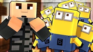 Minecraft Hotel - MINIONS EVERYWHERE?! (Minecraft Roleplay) #1