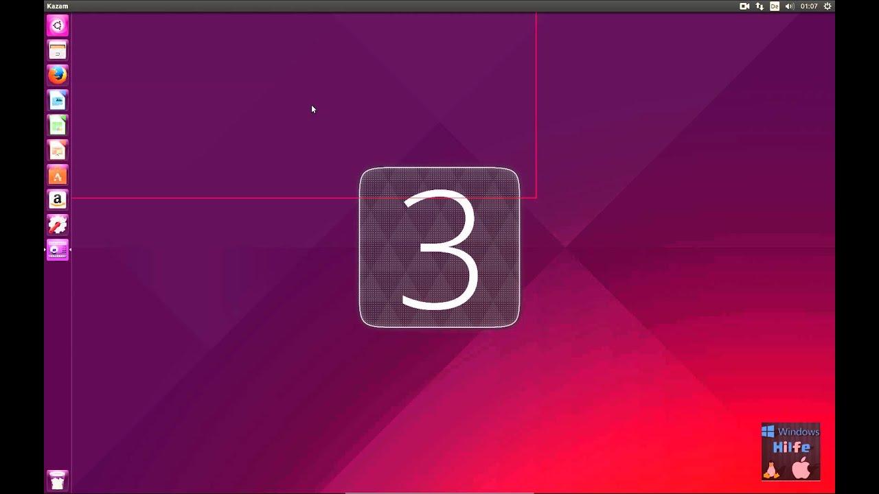 Desktop Aufnahme