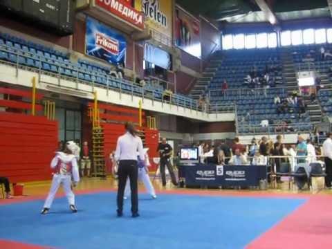 Taekwondo Galeb Belgrade Trophy 2012  - 33kg