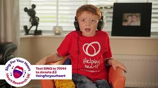 HRUK's Sing for your Heart Jaxon nominates Ed Sheeran