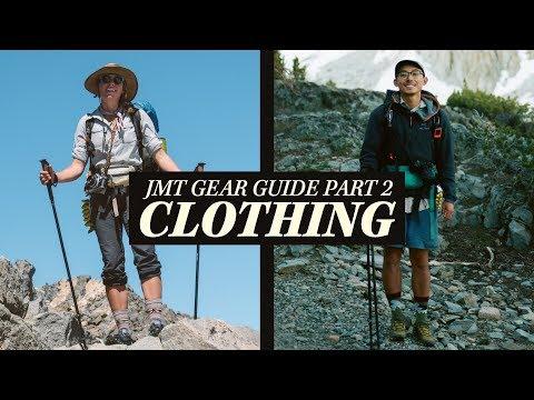 John Muir Trail Gear Guide | Part 2: Clothing