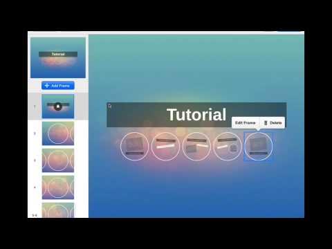 Prezi Tutorial Student Instructions Using The Ipad App By Jen C