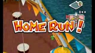 Mario Super Sluggers Request - All Home Run Celebrations