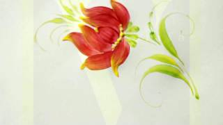 Базова квітка|Петриківський розпис | Відео-урок