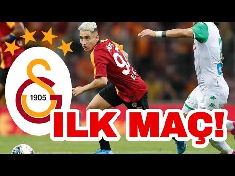 EMRE MOR İLK MAC PERFORMANSI! - GALATASARAY 2 - 1 Panathinaikos