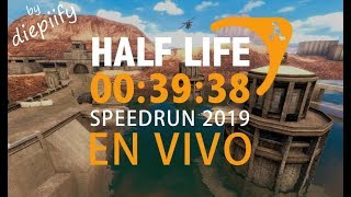 HALF-LIFE SPEEDRUN EN VIVO 00:39:38