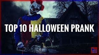 Top 10 Halloween Pranks! 🎃 2019 scary pranks,scare pranks