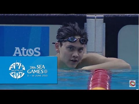 Swimming Men's 200m Butterfly Finals (Day 3) | 28th SEA Games Singapore 2015