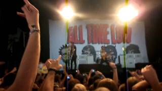 All Time Low live @ Pukkelpop 2010 talking about the audience during Jasey rae